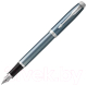 Ручка шариковая/перьевая Parker IM Metal Light Blue Grey CT 1931648 -
