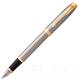 Ручка шариковая/перьевая Parker IM Metal Brushed Metal GT 1931649 -