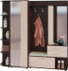 Шкаф/стенка/секция Сокол-Мебель ВШ-11+ШО-2+ШС-1 (венге/беленый дуб1) -