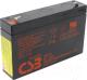 ИБП/сетевой фильтр CSB GP 672 6V/7.2Ah -