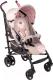 Детская прогулочная коляска Chicco Lite Way Top (бежевый с бабочками) -