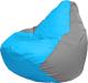 Бескаркасная мебель Flagman Груша Мини Г0.1-274 (голубой/серый) -