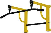 Турник/брусья Формула здоровья Титан-450-1 (желтый/черный) -