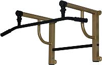 Турник/брусья Формула здоровья Титан-450-1 (золотистый/черный) -