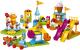 Сборная игрушка, конструктор Lego Duplo Большой парк аттракционов / 10840 -