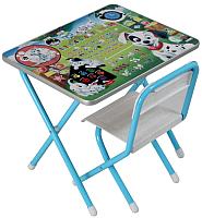 Стол/стул детский Дэми №1 101 Далматинец (голубой) -