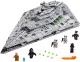 Сборная игрушка, конструктор Lego Star Wars Звездный разрушитель первого ордена / 75190 -