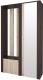 Шкаф/стенка/секция Интерлиния Коламбия КЛ-14 (дуб венге/дуб серый, правый) -