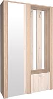Шкаф/стенка/секция Интерлиния Коламбия КЛ-14 (дуб сонома/дуб белый, левый) -