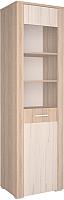Шкаф/стенка/секция Интерлиния Коламбия КЛ-5-1 (дуб сонома/дуб белый) -