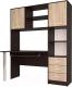 Стол/журнальный столик Интерлиния СК-011 (дуб венге/дуб серый) -