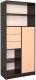 Шкаф/стенка/секция Интерлиния СК-021 (дуб венге/дуб молочный) -