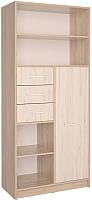 Шкаф/стенка/секция Интерлиния СК-021 (дуб сонома/дуб белый) -