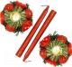 Предмет интерьера Luazon Красные шарики 2377880 (со свечами) -