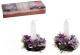 Предмет интерьера Luazon Фиолетовые шишки 542658 (со свечами) -