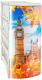 Полка/стеллаж/система хранения Эльфпласт Лондон 4 (белый/коричневый) -
