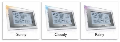 Метеостанция цифровая Philips AJ 210/12 - Общий вид