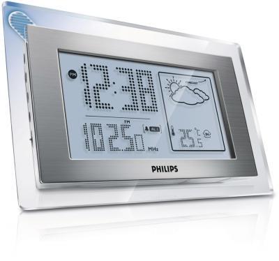 Метеостанция цифровая Philips AJ 210/12 - Вид сбоку