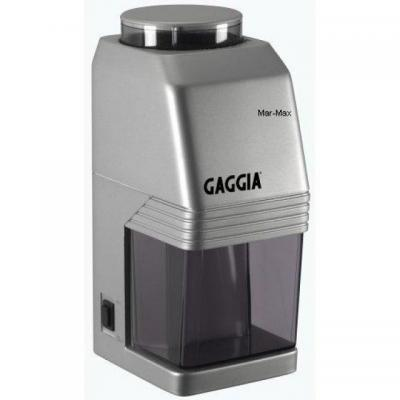 Кофемолка Gaggia MM Coffee Grinder silver - вид сбоку