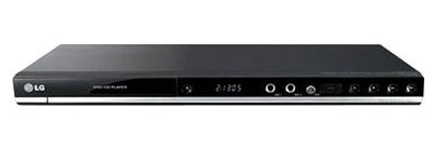 DVD-плеер LG DVX488K - вид спереди