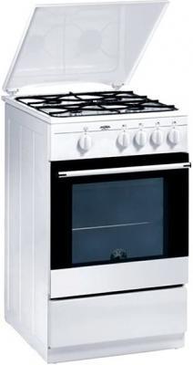 Кухонная плита Mora MGN 51104 FW - вполоборота