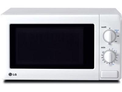 Микроволновая печь LG MS1929W - вид спереди