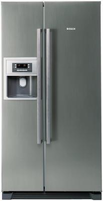 Холодильник с морозильником Bosch KAN58A45 - вид спереди
