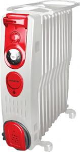 Масляный радиатор Polaris PRE S 0920 H White-Ferrari - общий вид
