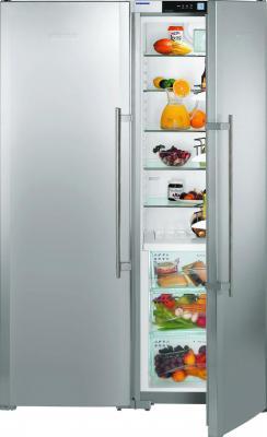 Холодильник с морозильником Liebherr SBSes 7253 - общий вид