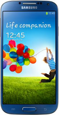 Смартфон Samsung Galaxy S4 16Gb / I9500 (синий) - общий вид