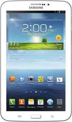 Планшет Samsung Galaxy Tab 3 7.0 SM-T211 (16GB 3G White) - фронтальный вид