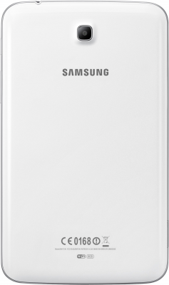 Планшет Samsung Galaxy Tab 3 7.0 SM-T211 (16GB 3G White) - вид сзади