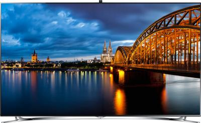 Телевизор Samsung UE40F8000AT - вид спереди