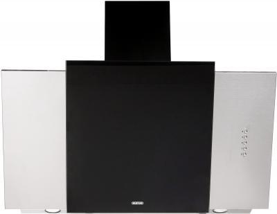 Вытяжка декоративная Zorg Technology Vesta 1000 (90, нержавейка матовая/черный) - общий вид