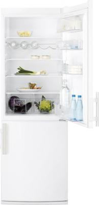 Холодильник с морозильником Electrolux EN3400AOW - общий вид