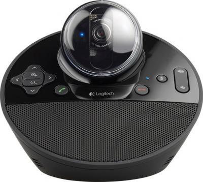 Веб-камера Logitech BCC950 ConferenceCam (960-000867) - фронтальный вид