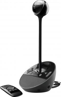 Веб-камера Logitech BCC950 ConferenceCam (960-000867) - общий вид с пультом ДУ
