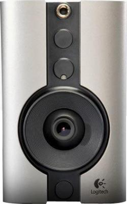 IP-камера Logitech Indoor Add-On Security Camera DLC-810i (961-000278) - фронтальный вид
