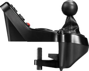 Игровой руль Logitech G27 Racing Wheel (941-000092) - блок переключения скоростей (вид сбоку)
