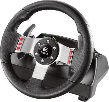 Игровой руль Logitech G27 Racing Wheel (941-000092) - руль (общий вид)