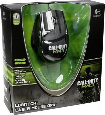 Мышь Logitech G9x Laser Mouse (910-002766) - коробка