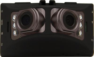 Автомобильный видеорегистратор Ritmix AVR-787 DUO - фронтальный вид