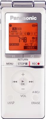 Цифровой диктофон Panasonic RR-XS420EE-W - общий вид
