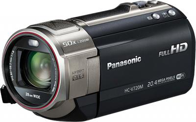 Видеокамера Panasonic HC-V720MEE-K - общий вид