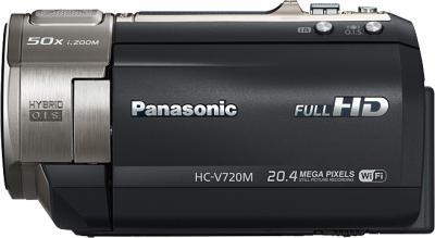 Видеокамера Panasonic HC-V720MEE-K - вид сбоку