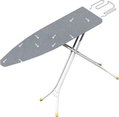 Гладильная доска Gimi Junior Silver (+ рукав) - общий вид/цвет чехла уточняйте при заказе