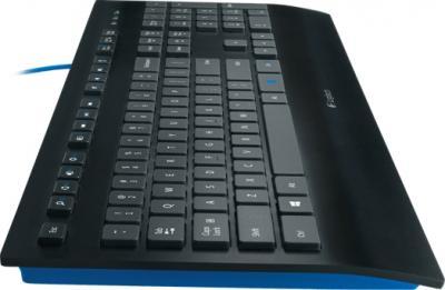 Клавиатура Logitech K290 (920-005194) - вид сбоку