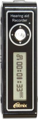 Цифровой диктофон Ritmix RR-550 (4GB, черный) - общий вид