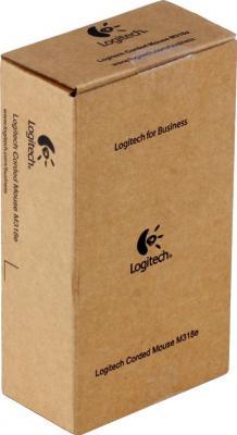 Мышь Logitech M318e (910-003410) - коробка