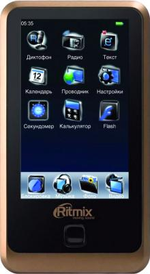 MP3-плеер Ritmix RF-9600 (4GB Brown) - общий вид